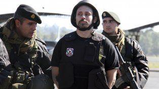 Apresado. El supuesto narcotraficante fue traído de Paraguay en julio pasado.