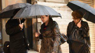El Servicio Meteorológico anticipó que las lluvias estarán presentes este fin de semana.