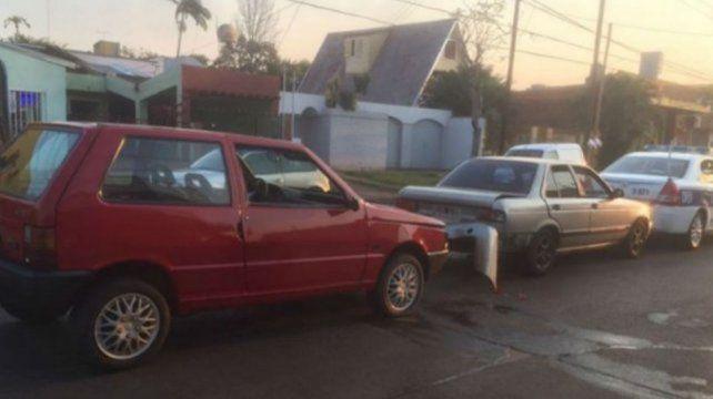 El hermano de la joven que mató a bordo de un Mini Cooper chocó un patrullero