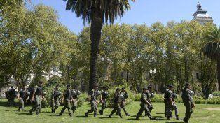 A paso redoblado. El desembarco de los gendarmes en Rosario se terminará de pulir el martes, en el Ministerio de Seguridad de la Nación.