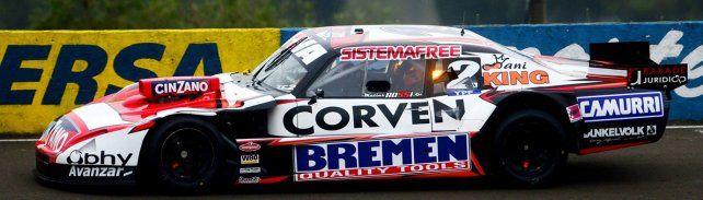 Un rayo. El Chevrolet de Rossi irrumpió cuando menos se esperaba y fue el más veloz en Paraná.