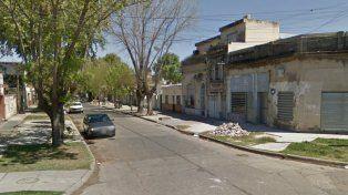 La calle donde anoche ocurrió el incidente.