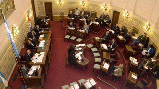 media sanción. Los senadores confían que Diputados avalará los cambios.