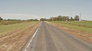 El accidente se produjo esta noche en la ruta entre Totoras y Clason.
