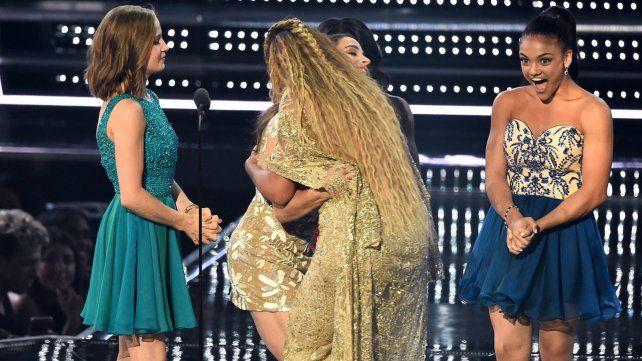 Beyoncé fue la reina de los MTV, arrasó con su talento y sensualidad en el escenario