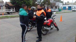La municipalidad remitió 130 vehículos al corralón en 600 controles de los últimos tres días