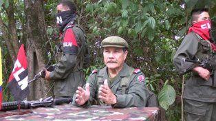jefe. El guerrillero Gabino es el líder máximo del ELN. Envió una carta pública a sus colegas de las Farc.