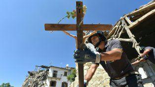 amatrice. En este pueblo murieron 231 de las 292 víctimas fatales del sismo.