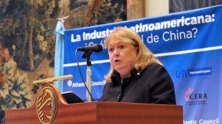 reclamos. La canciller Malcorra participó de un seminario sobre la relación entre China y América latina.