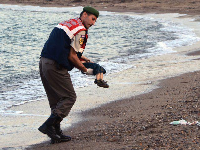 Las fotos del niño sirio Aylan Kurdi