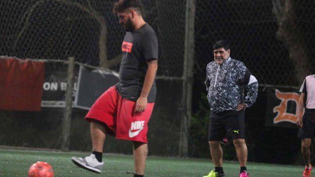 Emocionante relato de Diego Jr. que contó consejos de Maradona mientras jugaban al fútbol
