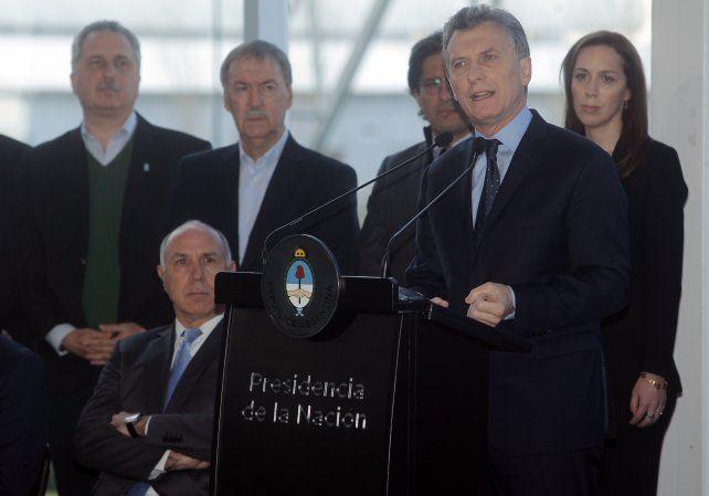 El presidente presentó el plan contra el narcotráfico.