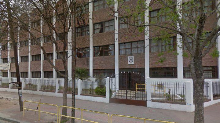 La escuela Medalla Milagrosa, donde esta tarde ocurrió el incidente.