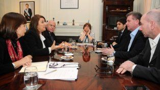 Bullrich, Lifschitz y Fein encabezaron la reunión.