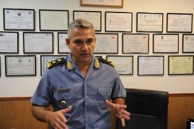Mañana asume el nuevo jefe de Policía de la provincia de Santa Fe