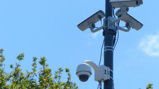 En la mira. En la actualidad en Rosario hay instaladas 1.200 cámaras.