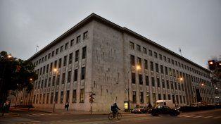 El edificio de Tribunales provinciales.