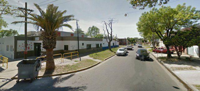 La explosión se produjo a metros del jardín de Fragata Sarmiento y Santiago.