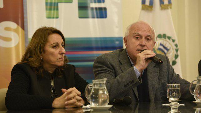 La intendenta y el gobernador estuvieron ayer con Patricia Bullrich. Volverán a reunirse el lunes.