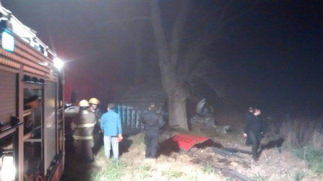 El choque se registró en el kilómetro 347 de la ruta 9.
