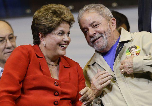 Rousseff fue la gran apuesta política de Lula