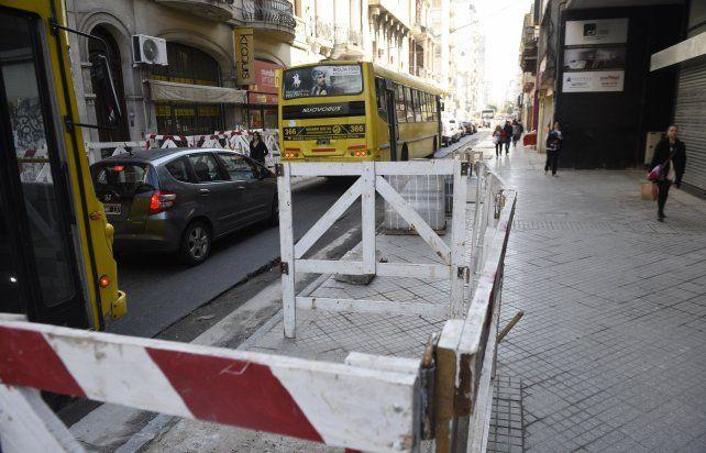 Las obras de remodelación sobre calle Rioja podrían estar terminadas para fines de septiembre.