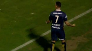 El delantero Bordagaray tuvo un debut soñado con la casaca del conjunto canalla