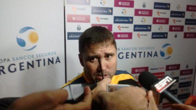 Coudet reconoció que el equipo le dio sensación de inseguridad, y eso no es bueno