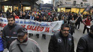Los sindicatos rosarinos se movilizan hoy en adhesión a la Marcha Federal.