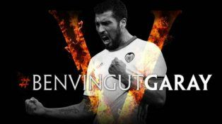 Ezequiel Garay vestirá la camiseta del Valencia hasta 2020.