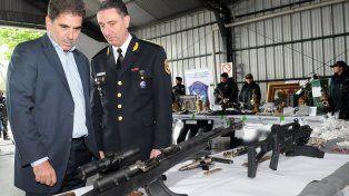 resultado. El ministro de Seguridad bonaerense