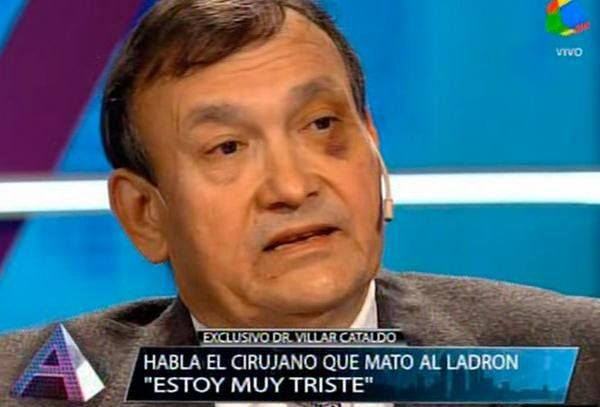 Con miedo. Lino Villar Cataldo en Animales sueltos