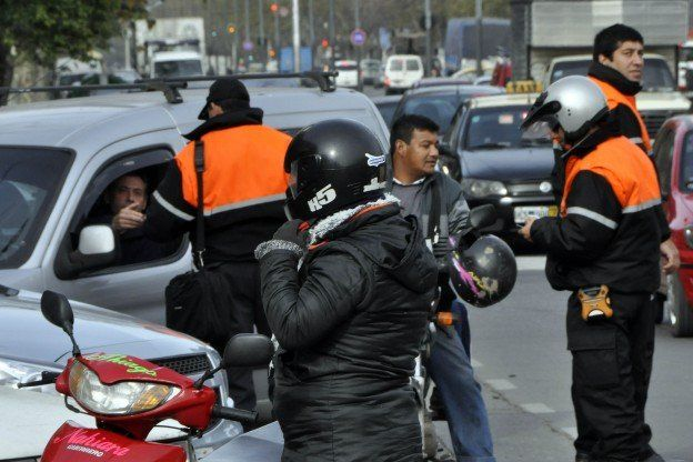 efecto marcha. Inmediatamente después de la movilización a la plaza San Martín