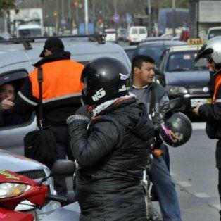efecto marcha. Inmediatamente después de la movilización a la plaza San Martín, se reforzaron los operativos de control en las calles
