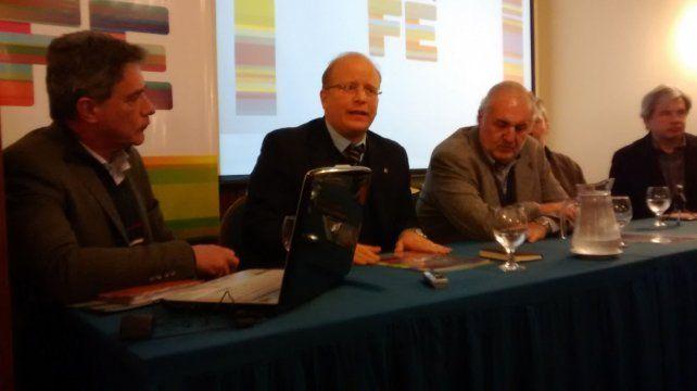 Observatorio. Luis Contigiani (Producción) y Guillermo Moretti (Fisfe).