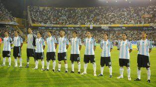 La última vez. La selección se presentó en Arroyito el 5 de septiembre de 2009. Fue derrota 3 a 1 ante Brasil.