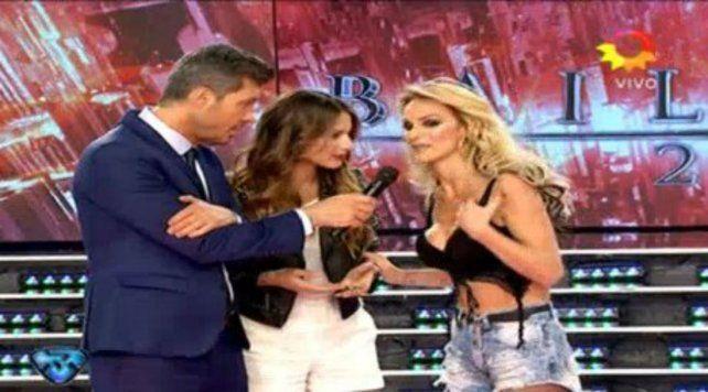 Pampita dio cátedra en el desfile con Sabrina Rojas que revivió el duelo entre vedettes y modelos