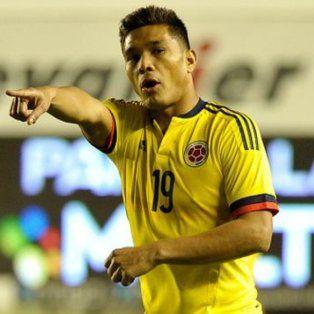 Teo Gutiérrez no jugó anoche en el partido en el que la selección de Colombia venció 2 a 0 a Venezuela.