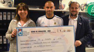 La donación de Mascherano: un millón de huevos para comedores infantiles