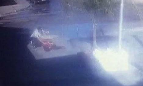 Un joven acuchilló a cuatro personas y logró ser reducido por un grupo de taxista