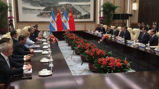 Macri se reunió con Xi Jinping, en el comienzo de su agenda en China