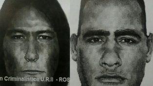 En la mira. Fiscalía difundió imágenes de los atacantes de Jessica Balmaceda.