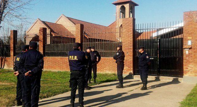 El allanamiento motivado por una denuncia periodística se realizó durante la madrugada y mañana del pasado jueves 25 de agosto en el Monasterio de Carmelitas Descalzas de Nogoyá.