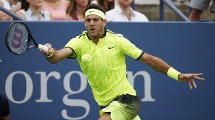 Del Potro mostró nuevamente un juego sólido para llevarse el partido ante Ferrer en tres sets.