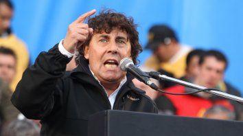 El secretario general de la CTA Autónoma, Pablo Micheli, destacó la adhesión al paro general.