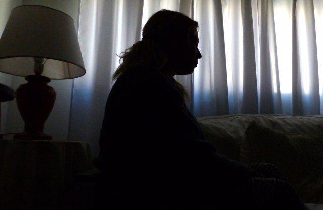 Por miedo. Romina está protegida en una vivienda fuera de la ciudad después de perder todo lo que tenía.