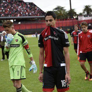 newells quedo eliminado de la copa santa fe tras perder con sportivo las parejas por 1-0