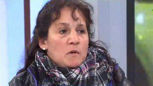 La madre del asaltante asesinado.
