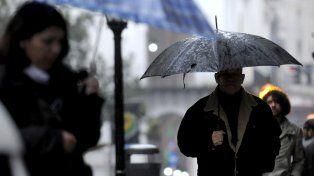 Las lluvias se prolongarán durante toda la jornada.