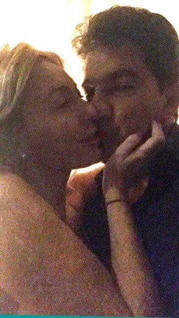 Las fotos y chats que comprometen al novio de Amalia Granata con una supuesta amante